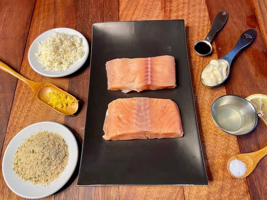 Oven Baked Salmon (Photo by Erich Boenzli)