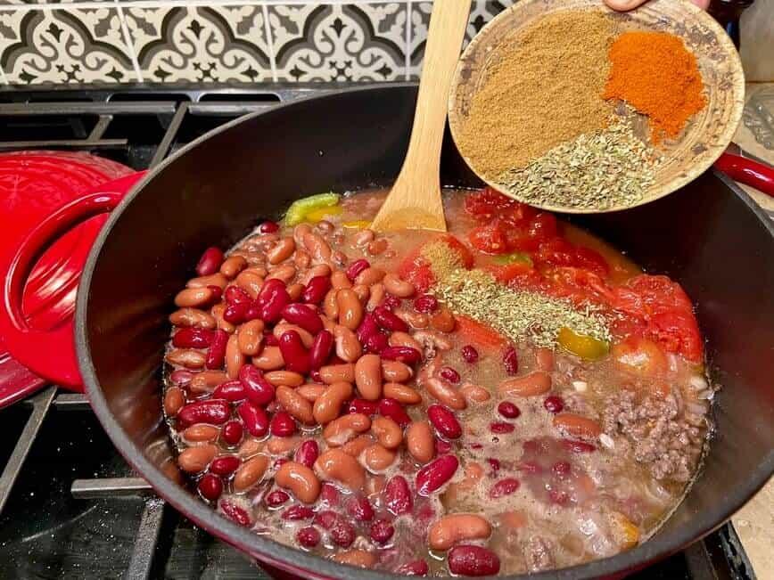 Chili con Carne (Photo by Viana Boenzli)
