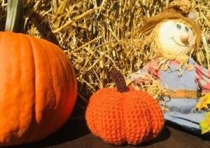 Crochet Pumpkin Pattern (Photo by Viana Boenzli)