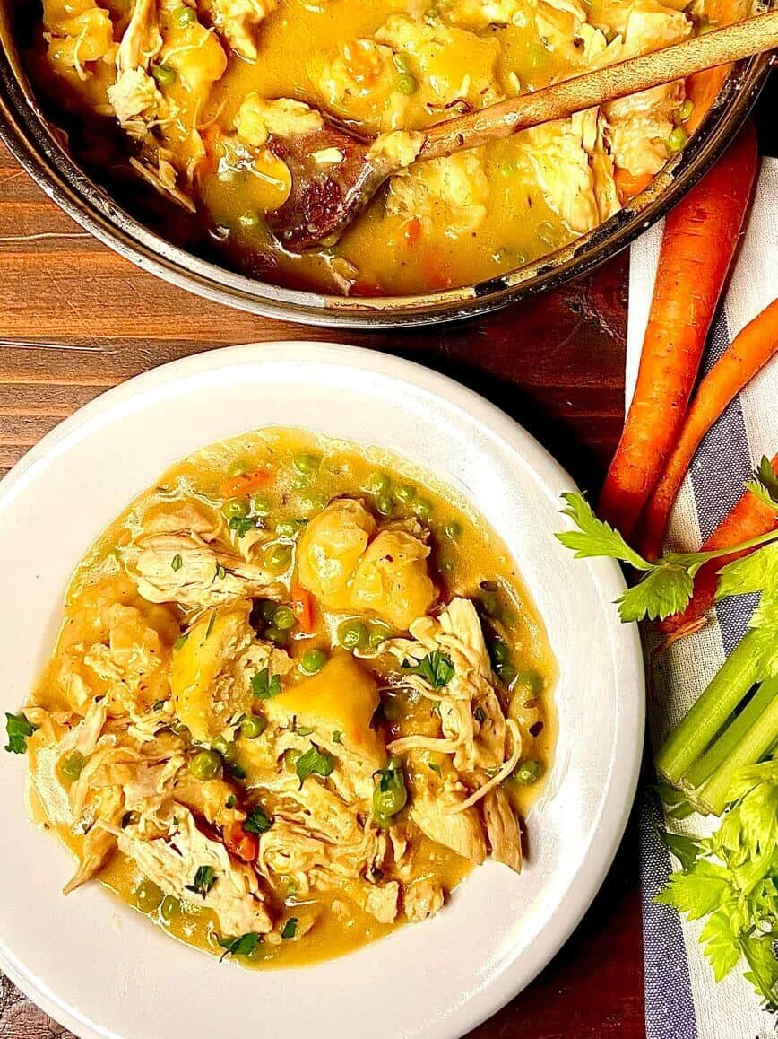 Easy Homemade Chicken and Dumplings from Scratch (Photo by Viana Boenzli)