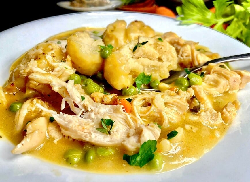 Easy Chicken and Dumplings from Scratch (Photo by Viana Boenzli)