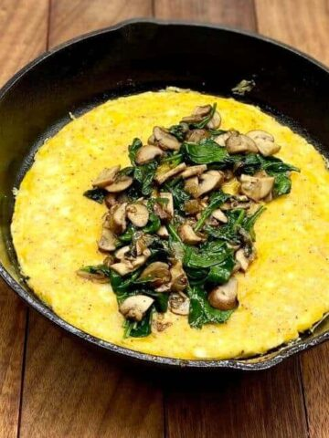 Omelette Recipe - Ready to fold and serve (Photo by Erich Boenzli)