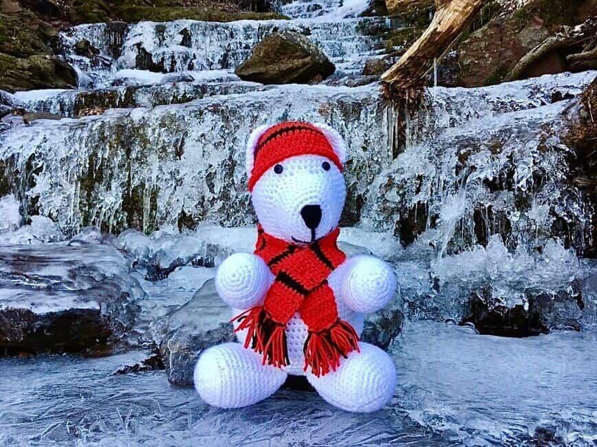 Polar Bear Stuffed Animal – Free Printable Crochet Pattern