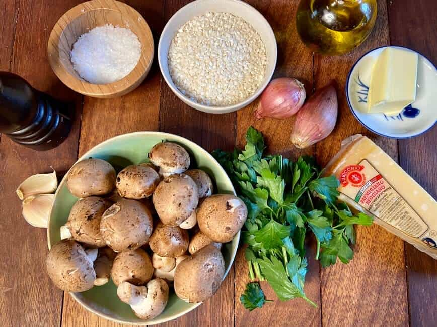 What is Risotto Mushroom Risotto (Photo by Erich Boenzli)
