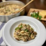What is Risotto Mushroom Risotto (Photo by Viana Boenzli)