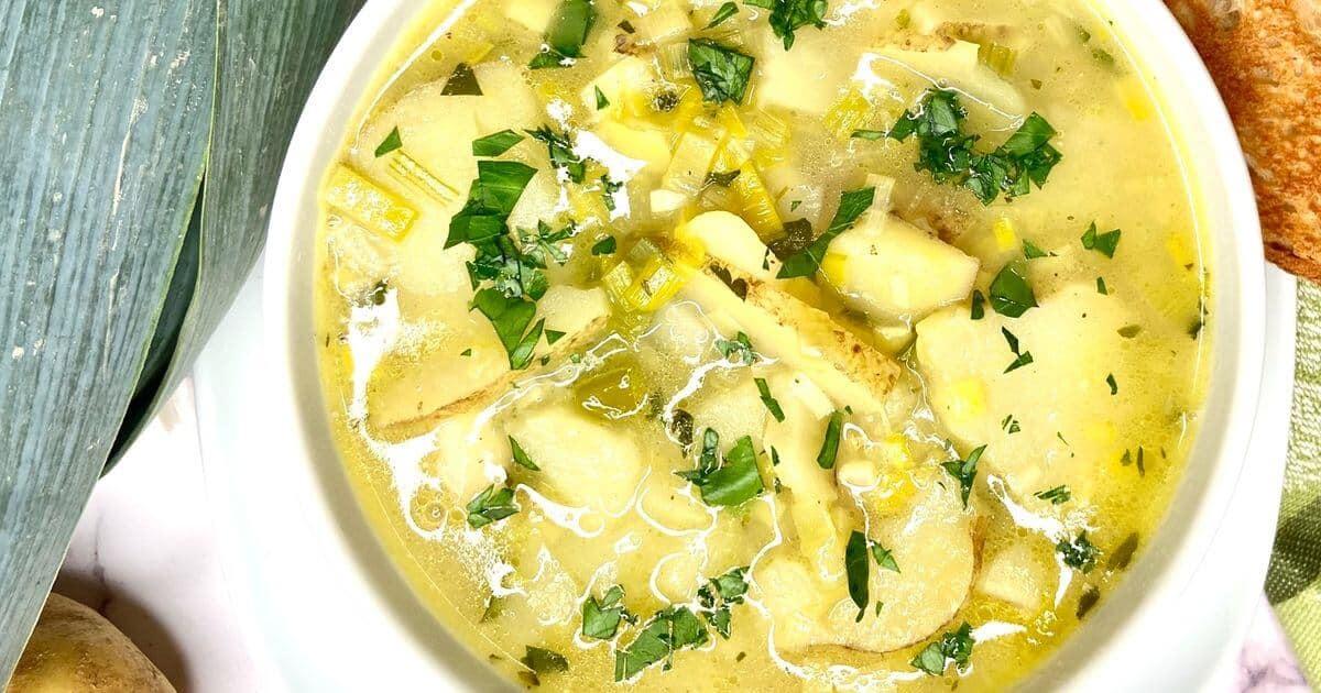 Potato and Leek Soup – Potage Parmentier
