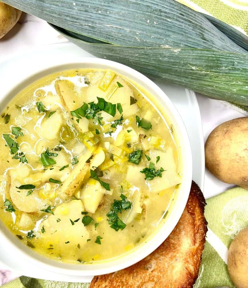 Potato and Leek Soup (Photo by Viana Boenzli)