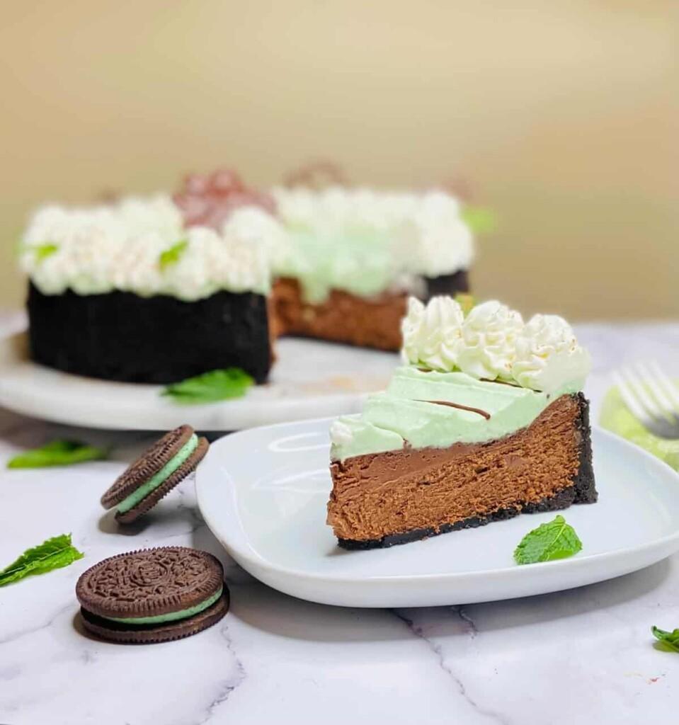Mint Chocolate Cheesecake (Photo by Viana Boenzli)