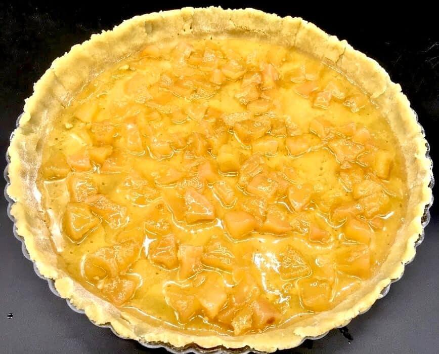 Pear Tart Dessert - Layer of Marmellata di Pere (Photo by Viana Boenzli)