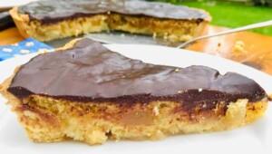 Pear Tart Dessert - Barchiglia Pear-Almond Tart (Photo by Erich Boenzli)