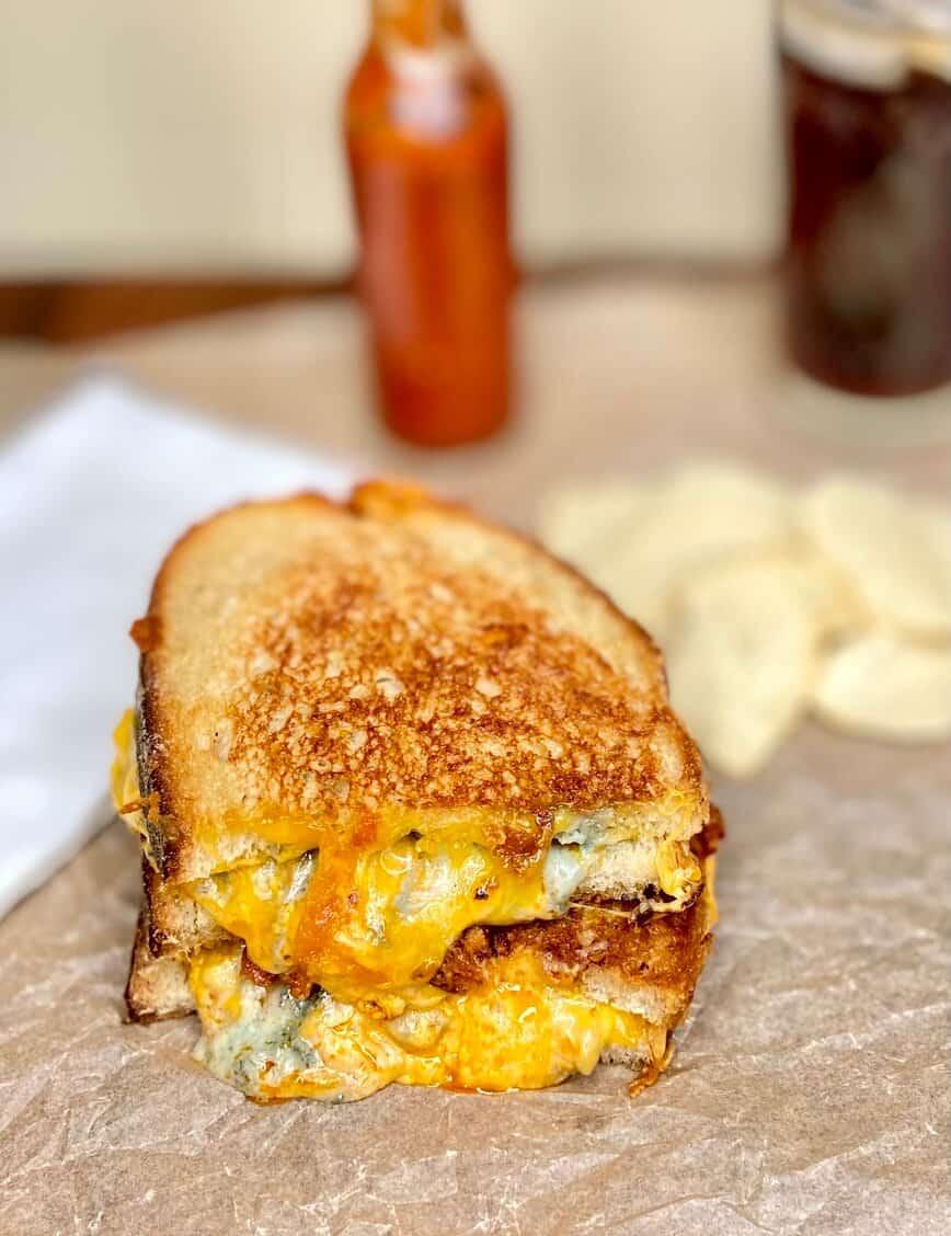 Buffalo Chicken Grilled Cheese (Photo by Viana Boenzli)