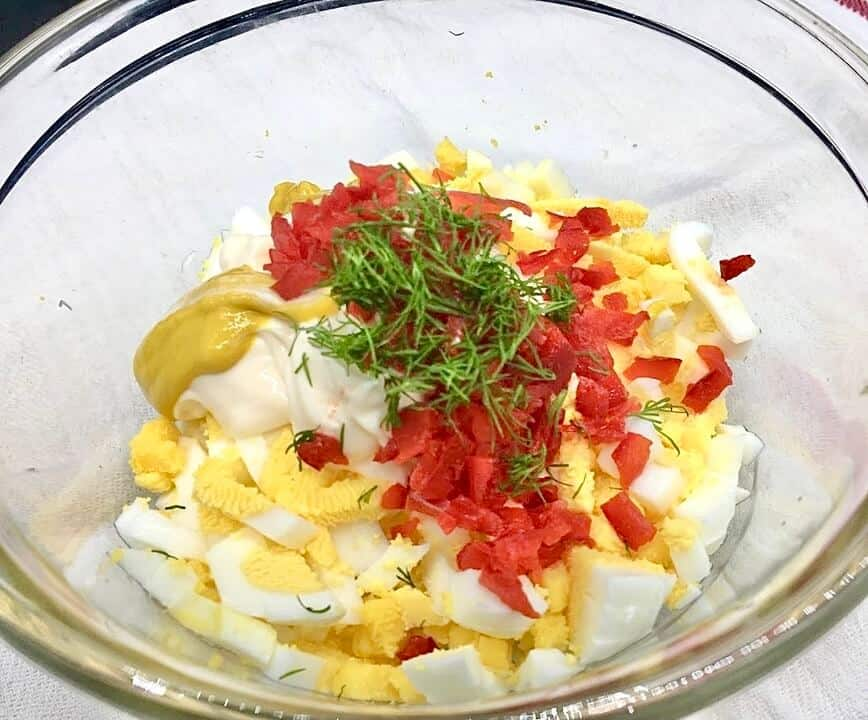 Egg Salad Sandwich (Photo by Viana Boenzli)