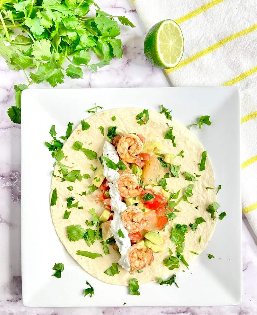 Shrimp Tacos (Photo by Viana Boenzli)