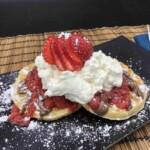 Strawberry Shortcake Waffles (Photo by Erich Boenzli)