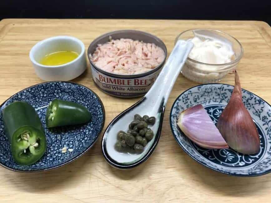 Ridiculously Easy Gourmet Tuna Sandwich Ingredients - Ingredients (Photo by Erich Boenzli)