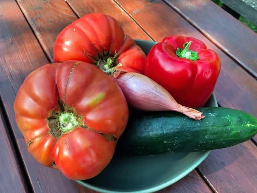 Tomato Gazpacho - (Photo by Erich Boenzli)