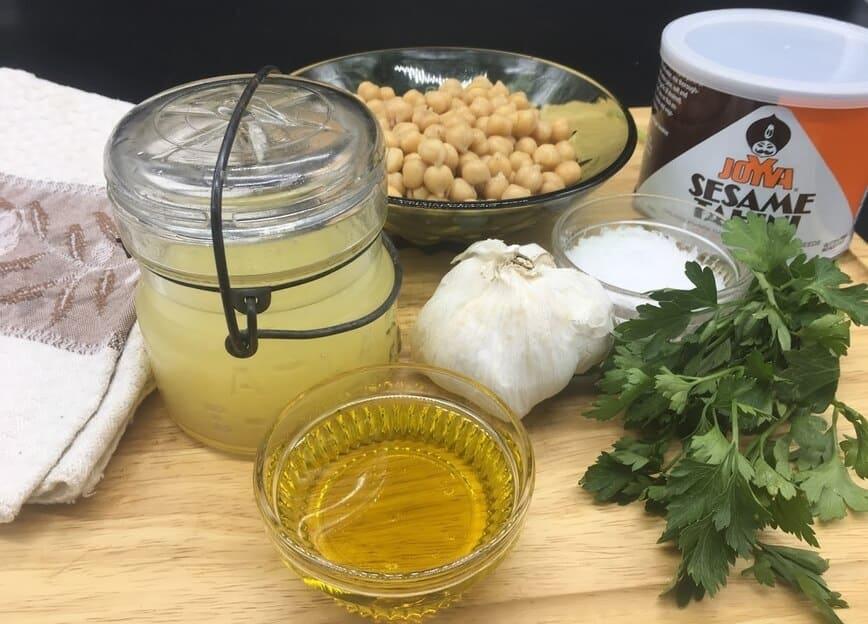 Hummus - Ingredients (Photo by Viana Boenzli)