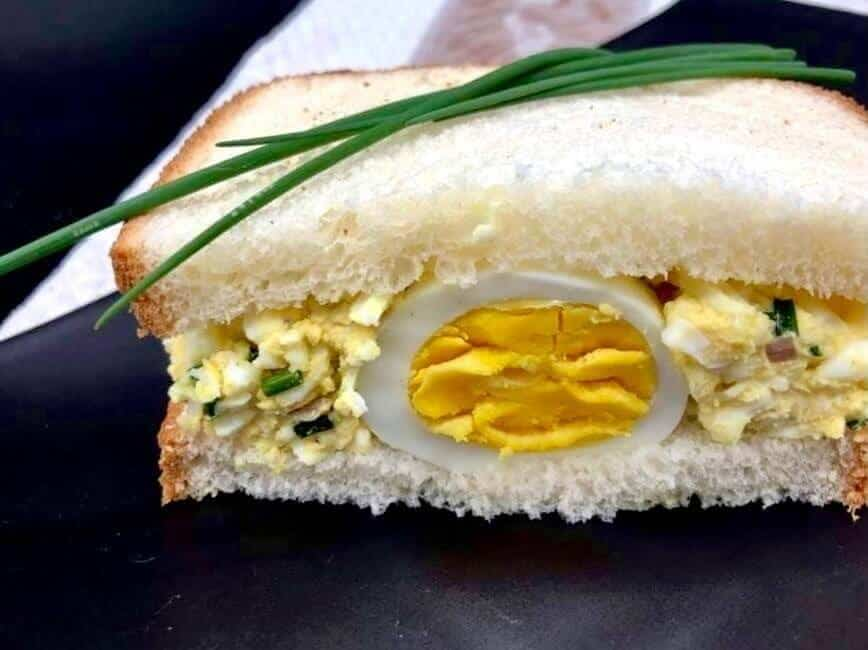 Egg Salad Sandwich (Photo by Erich Boenzli)