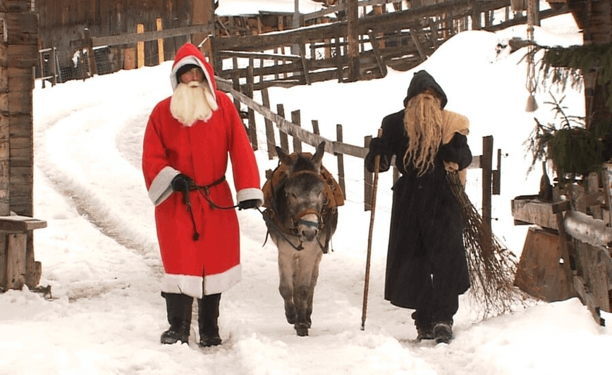 Christmas Traditions - Samichlaus and Schmutzli (Photo copyright of Rick Steves)