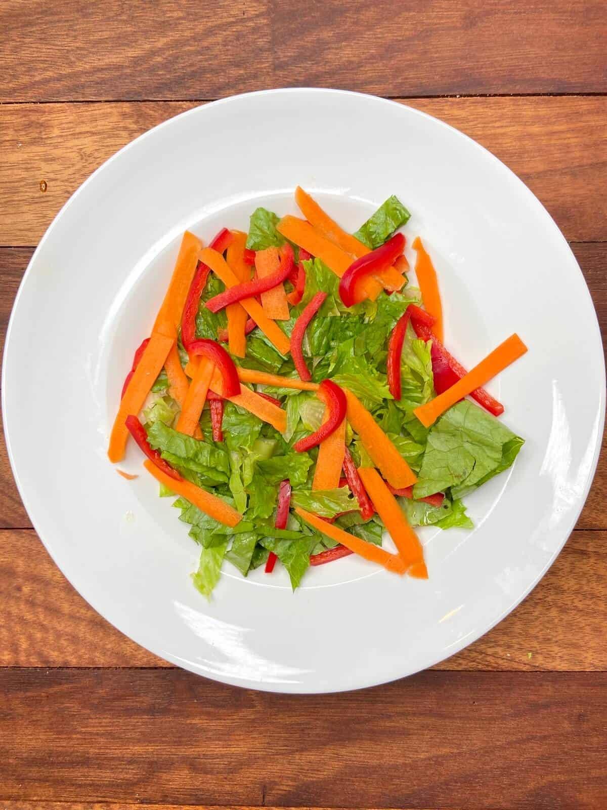 Panera Spicy Thai Salad (Photo by Erich Boenzli)