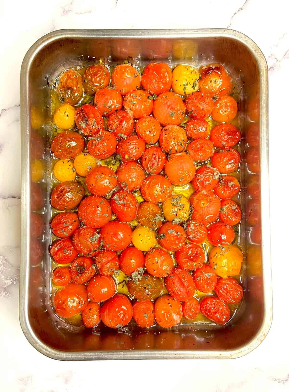 Roasted Tomato and White Bean Stew (Photo by Erich Boenzli)